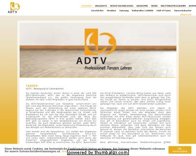Tanzpartnerbörse beim ADTV