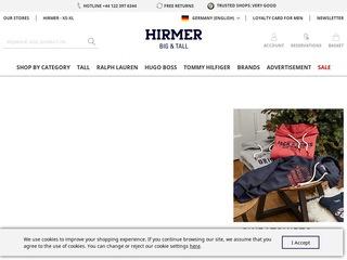 Hirmer - Grosse Grössen - Extra Lang