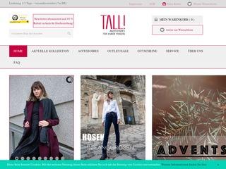 Tall! Berlin - Anziehendes für lange Frauen