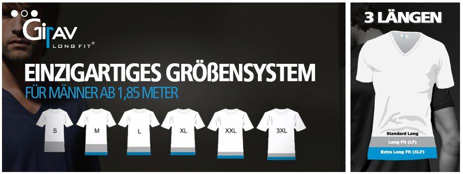 Girav - T-Shirts in Überlänge